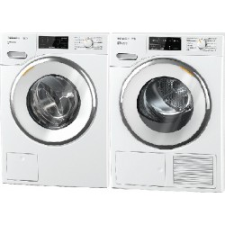 SET Miele WWI 320 PWash + TWJ 680 WP