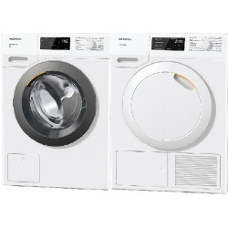 SET Miele WED 135 WCS + TEB 155 WP