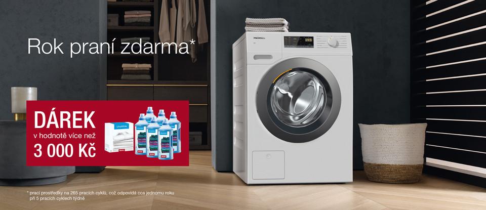Rok praní zdarma